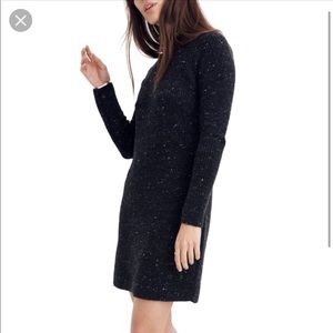 NWOT Madewell wool sweater with back buttons